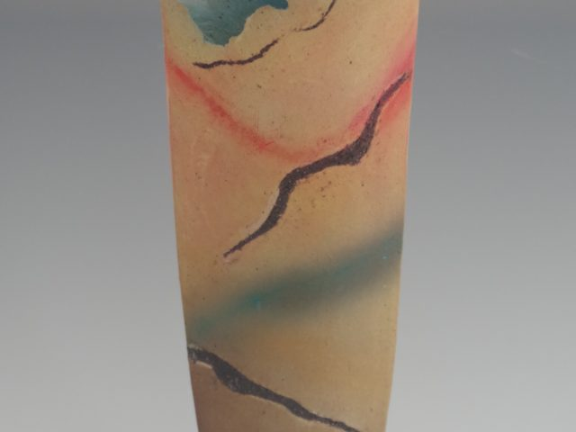 Abstract landscape Vessel